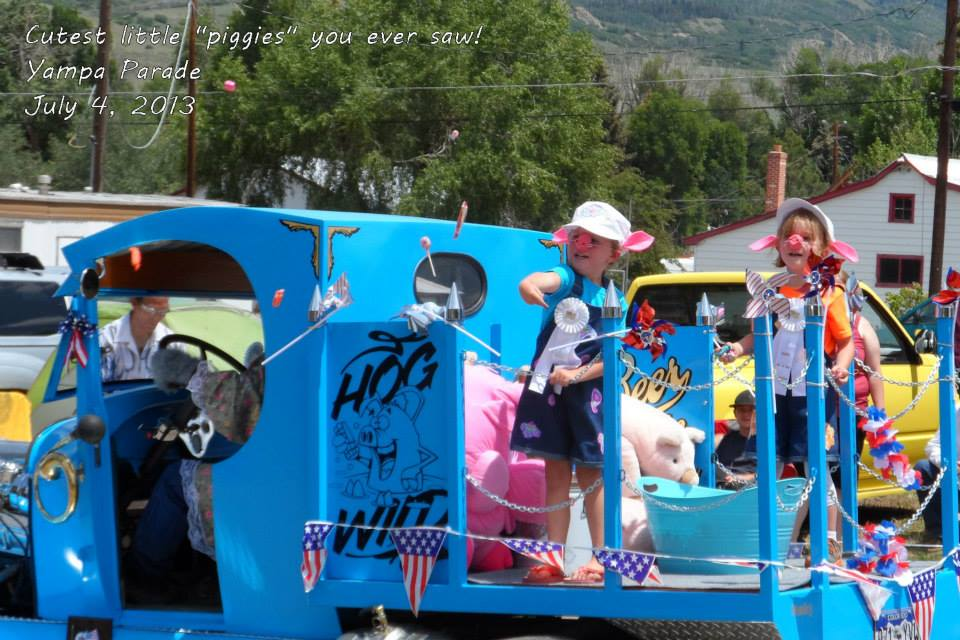 Fourth of July in Yampa. Submitted by: Diana Cole