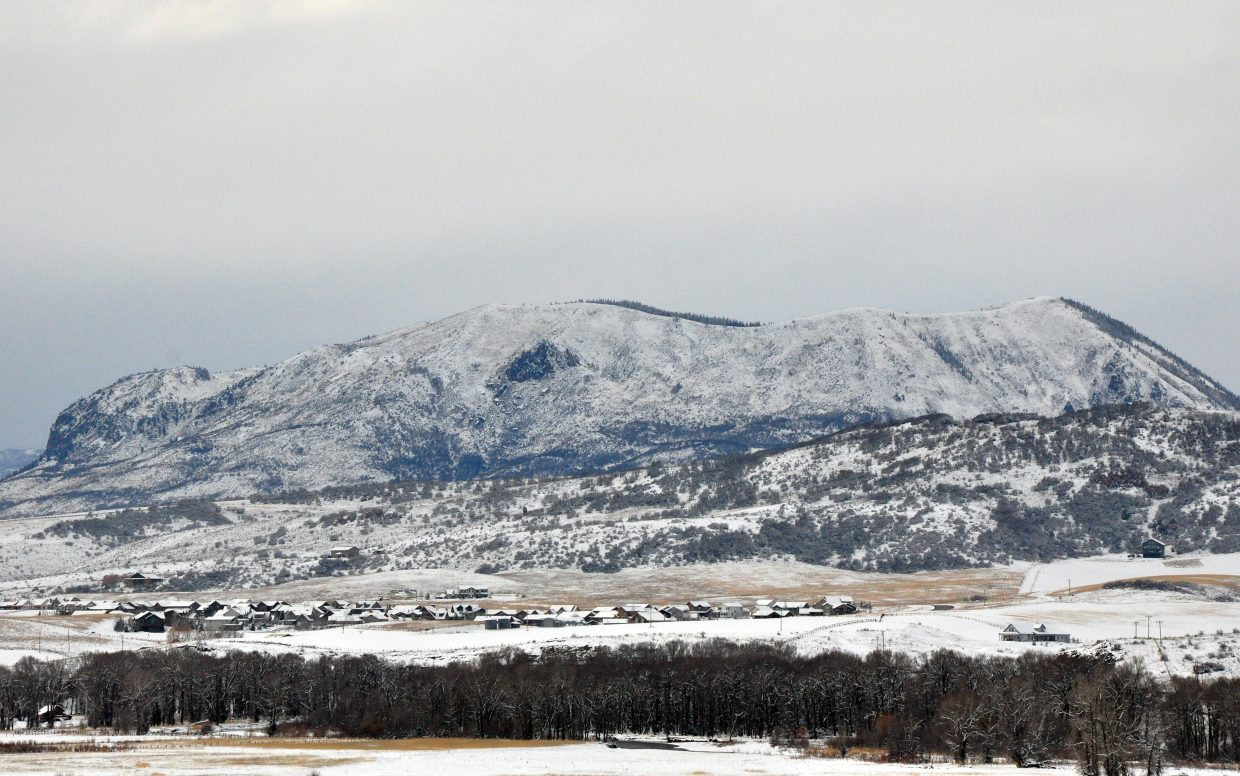 The weekend snowstorm brought about a foot of snow to Steamboat Springs and the surrounding mountains through Sunday. Snow is expected to continue Monday before skies clear and temperatures rise Tuesday.