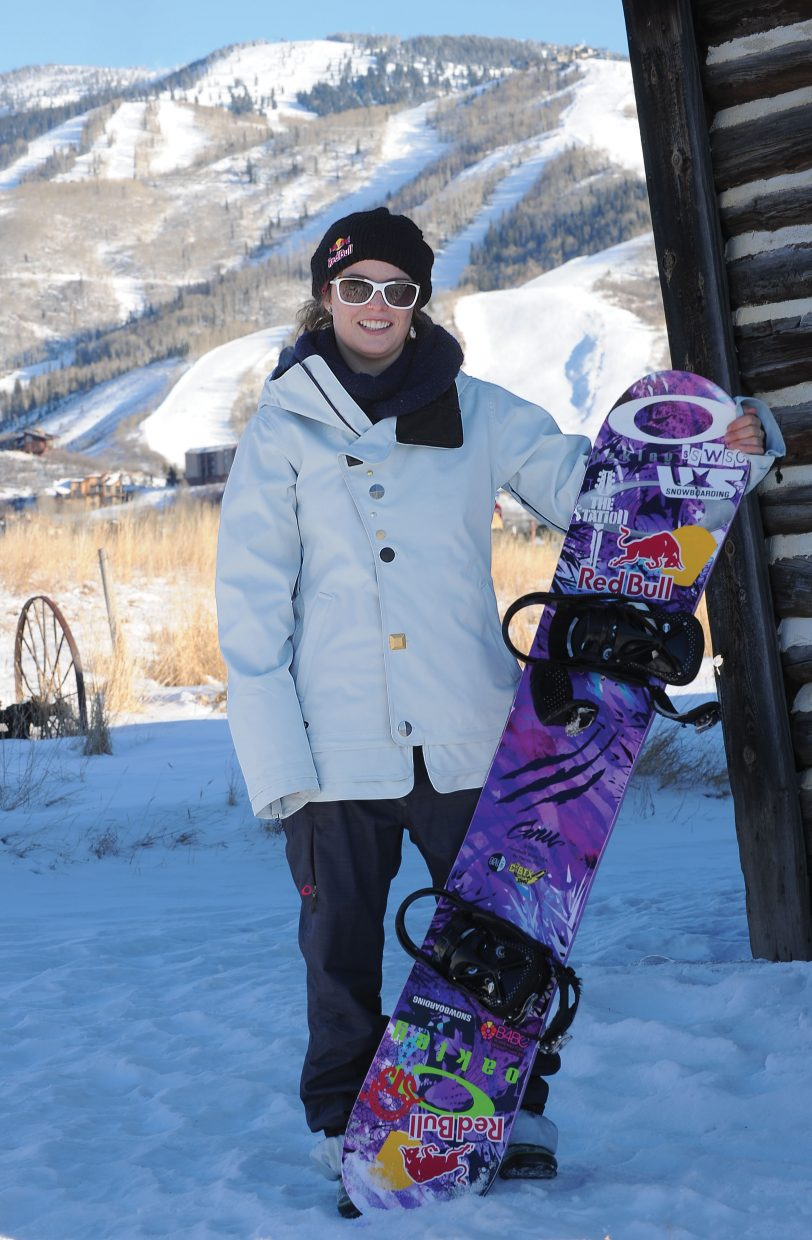 Steamboat Springs snowboarder Maddy Schaffrick is setting her sights on evolving women's snowboarding.