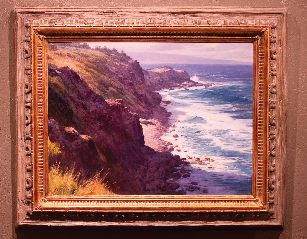 Utah-based Jim Norton is showing this painting and others at the Steamboat Art Museum until April 10.