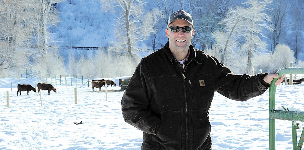 In North Routt, Ryan Wood, of Sweetwood Cattle Co., said they're getting 25 to 30 orders a day for holiday gift packages of beef, which they ship across the country.