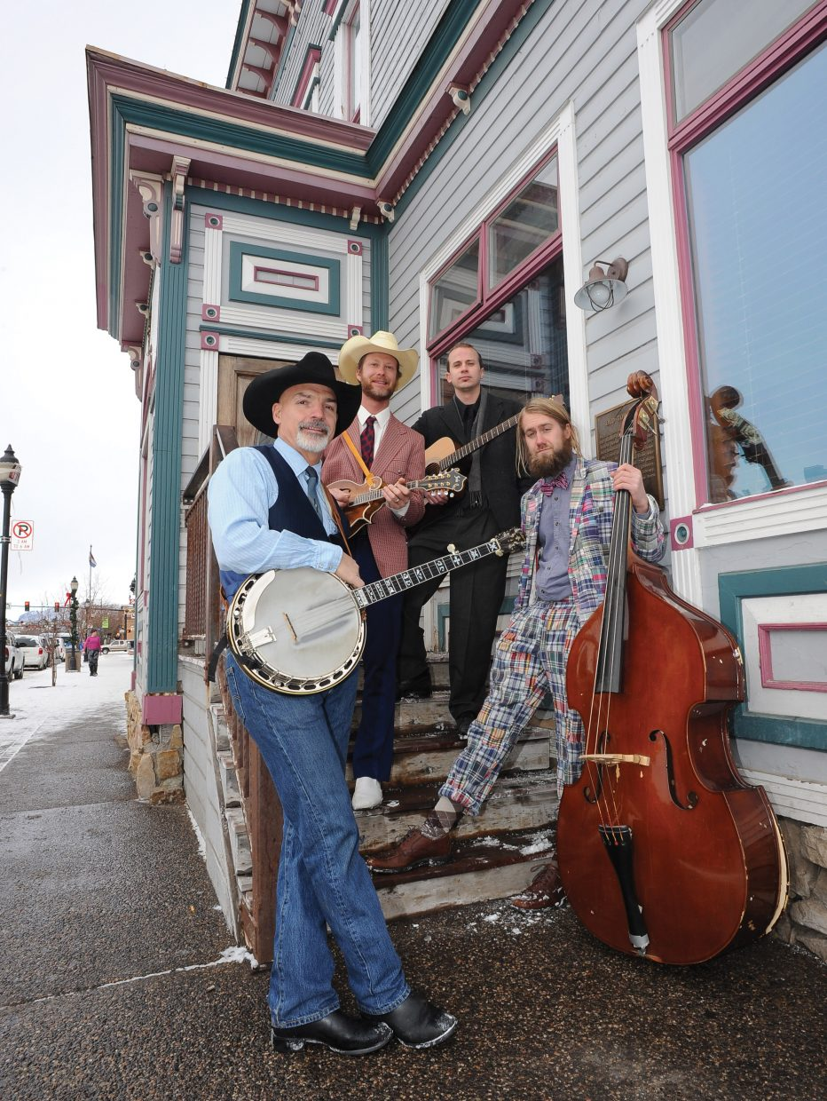 Old Town Pickers — featuring, from left, Jay Roemer, Denton Turner, Eric Baker and Von Wilson — will be playing at 9:30 p.m. Friday at Old Town Pub and Wednesday and Thursday at The Tugboat Grill & Pub.
