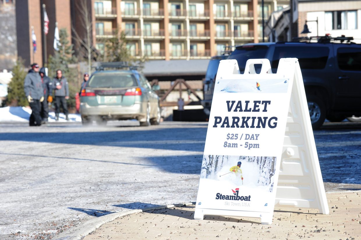 Steamboat Ski Area has introducing valet service at the skier drop-off location at the Gondola Transit Center.