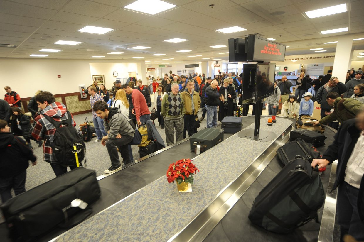 The new baggage carousel was fully operational Friday at Yampa Valley Regional Airport.