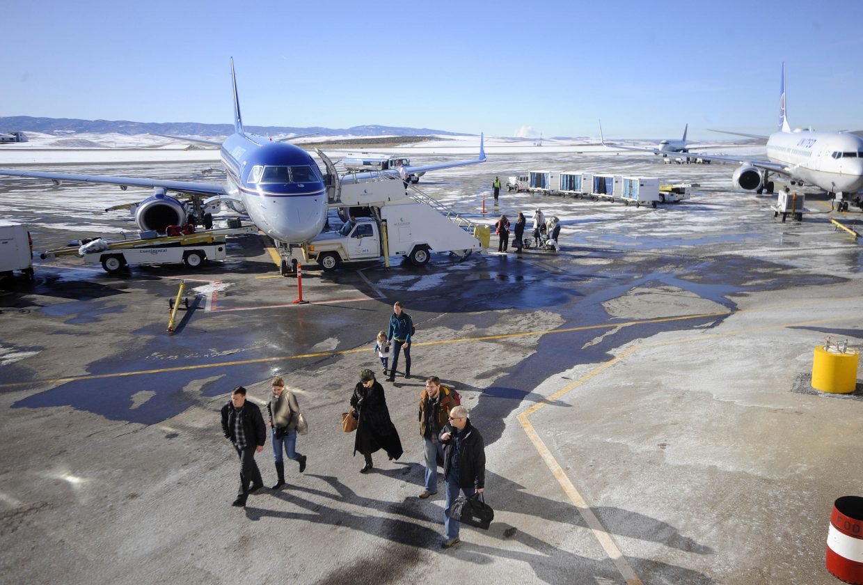 A proposed .2 percent sales tax in Steamboat Springs to support airline service in the Yampa Valley would replace a similar five-year tax that was allowed to sunset in 2016, after five years.
