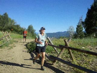 Sean Doran runs in the Mount Werner Classic race on Saturday in Steamboat Springs.