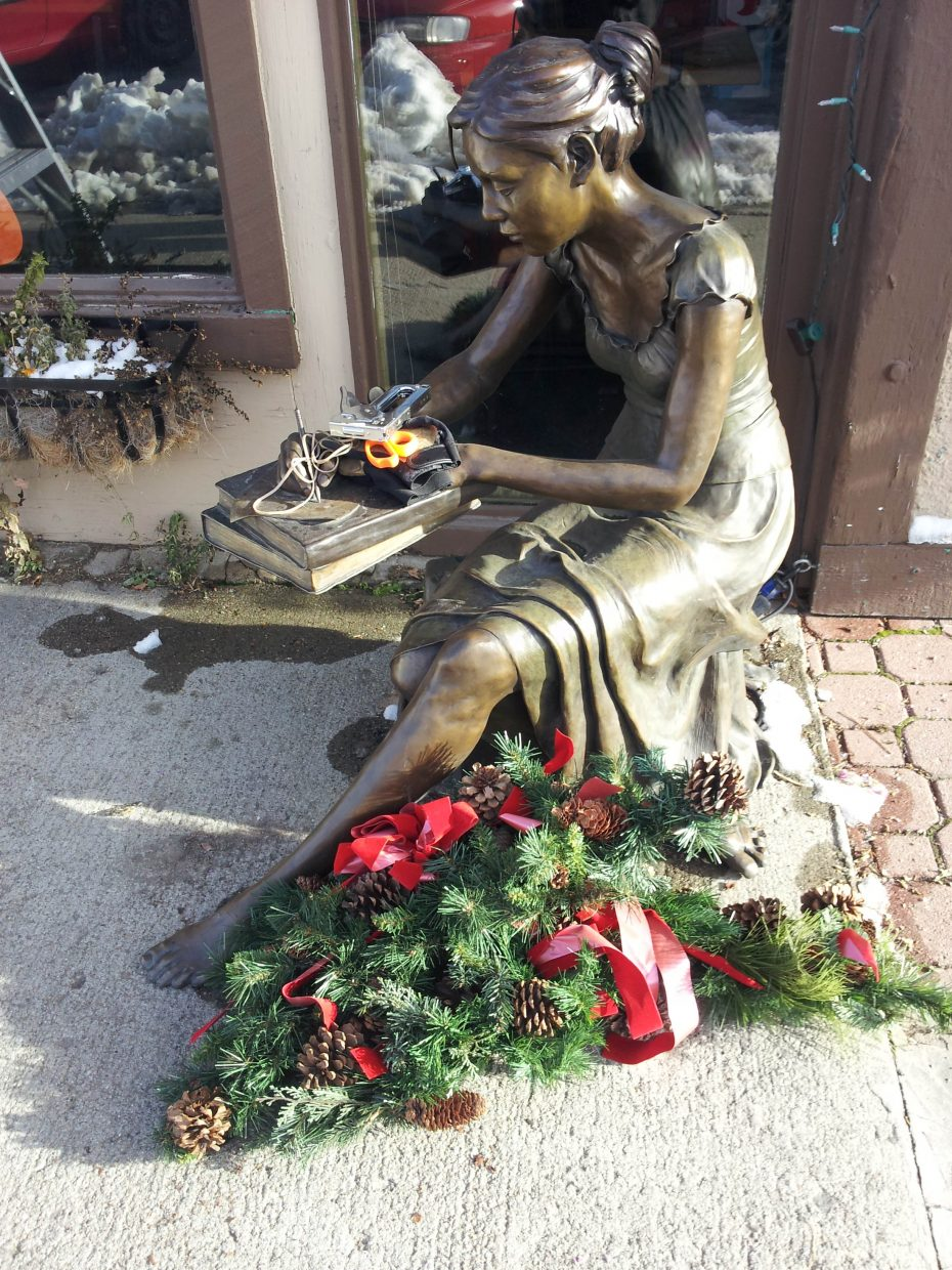 Holiday cheer coming to town. Submitted by: Matthew Grasse