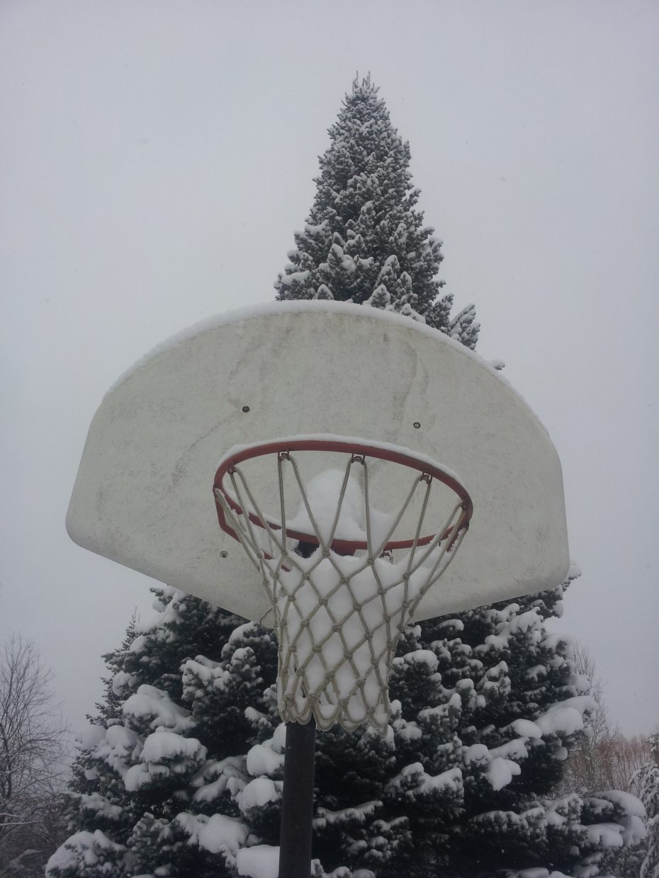 Winter could be a slam dunk this year! Submitted by: Matthew Grasse