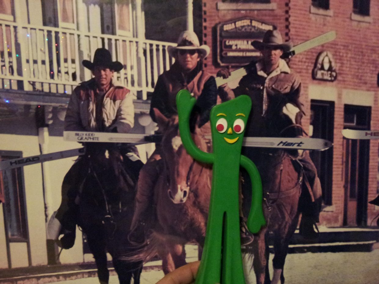 Was hanging with Tom, Gumby came along. Submitted by: Matthew Grasse