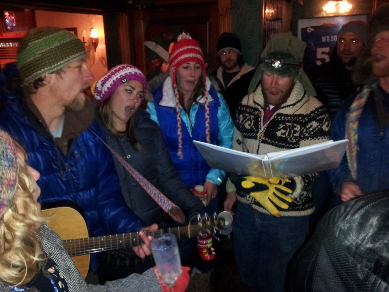 Carolers at Old Town Pub. Submitted by: Matthew Grasse