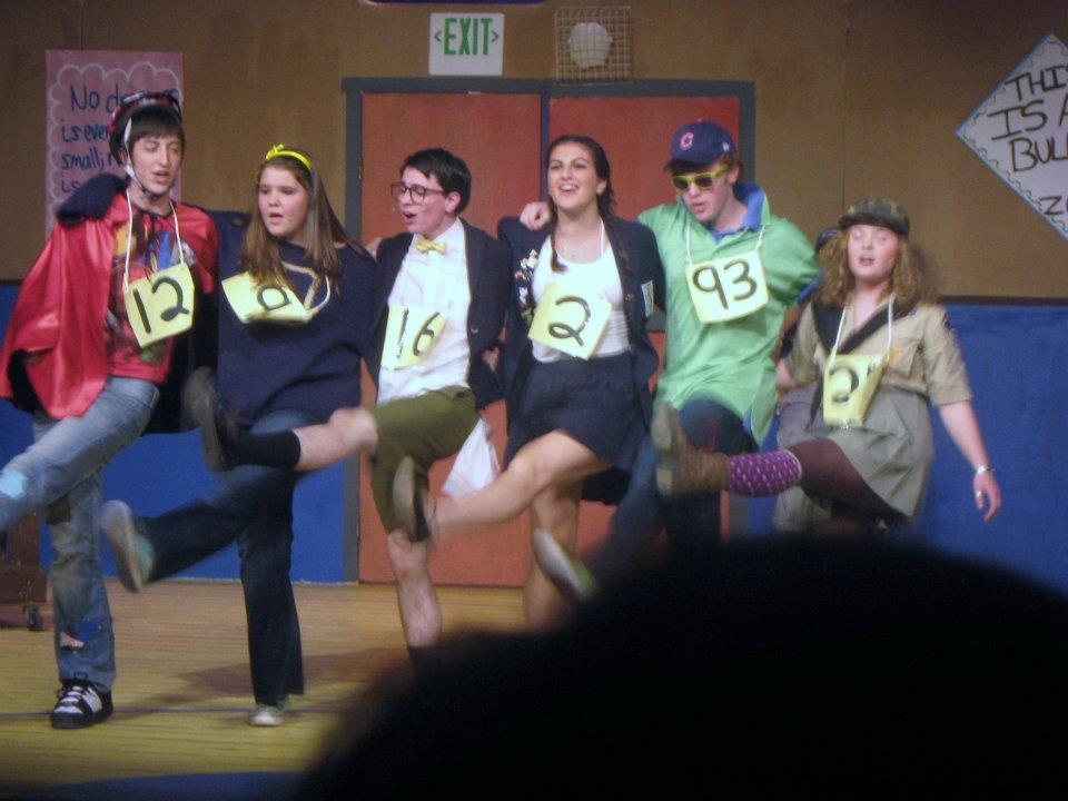 """Final show of the Steamboat Springs High School's """"25th Annual Putnam County Spelling Bee"""" musical. Submitted by: Kat Kelly"""