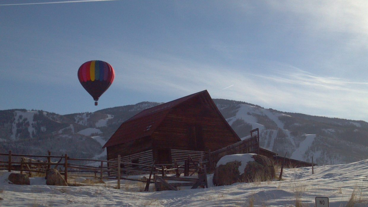 Another beautiful morning in Steamboat on Feb. 1. Submitted by: Maria Linna