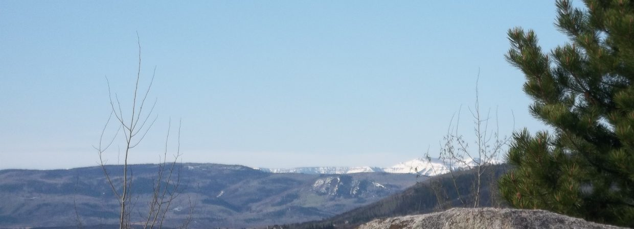 View of the Flat Tops. Submitted by: Bill Dorr