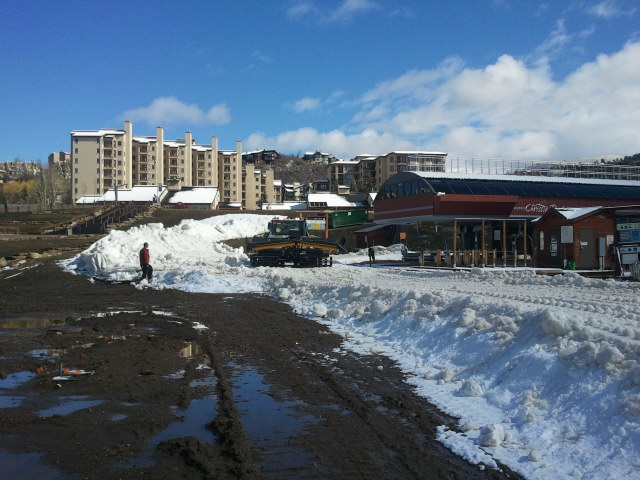 At the base of Steamboat Ski Area. Submitted by: Sam Daniels