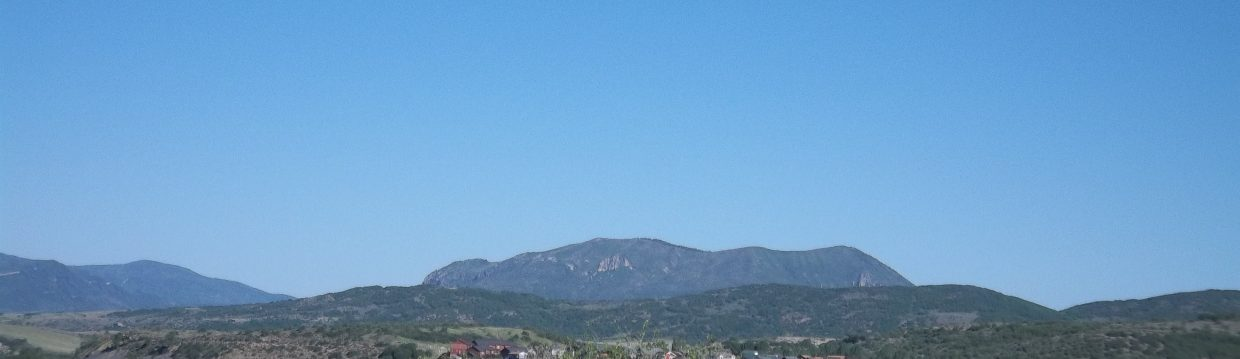 Sleeping Giant from the Steamboat Cemetery on June 9. Submitted by: Bill Dorr