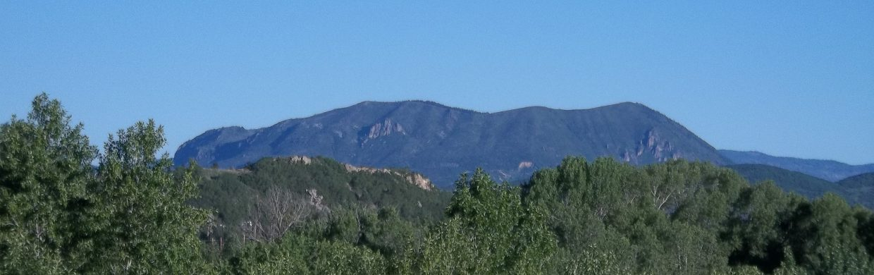 Sleeping Giant from U.S. Highway 40 on June 11. Submitted by: Bill Dorr