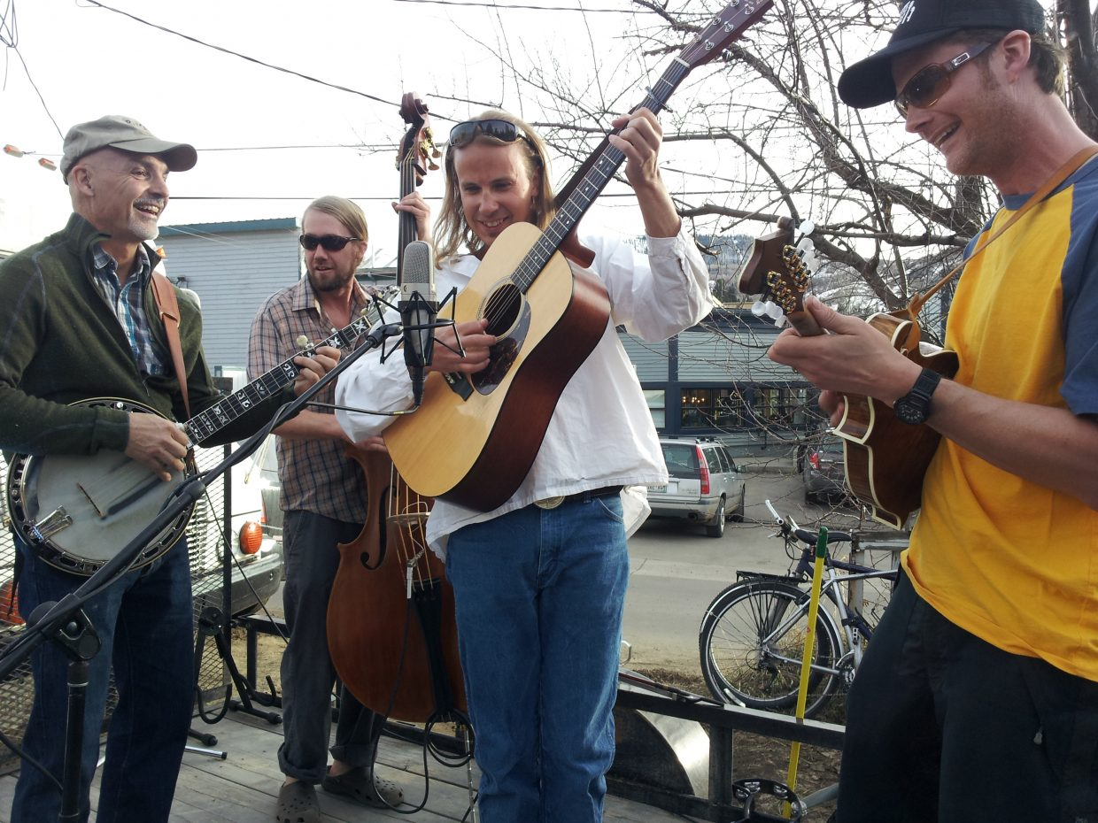 The Old Town Pickers at Denton's. Submitted by: Matthew Grasse
