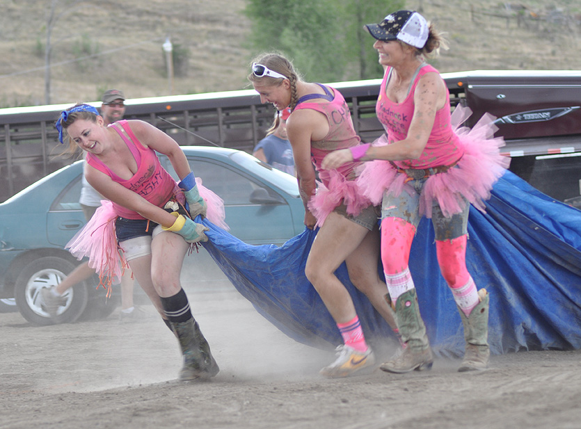 Participants at the Routt County Redneck Olympics. Submitted by: Wendy Lind