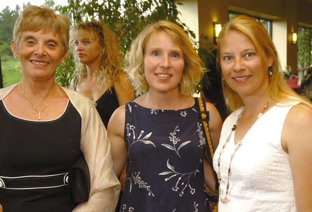 Clark resident Barb Rexrode, from left, with Steamboat residents Amy Ibarra and Melinda Graham.