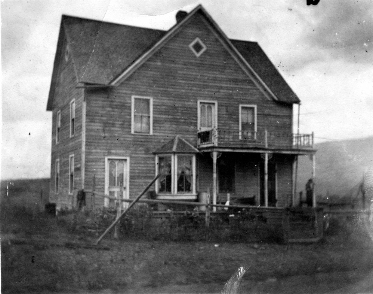 The home of Swiss immigrants Emile and Percede Gay was built at the turn of the 20th century in what now is known as Pleasant Valley. The ranch family earned extra money by hosting men and their horsepack trains on the way to timbering operations on Sarvis Creek.