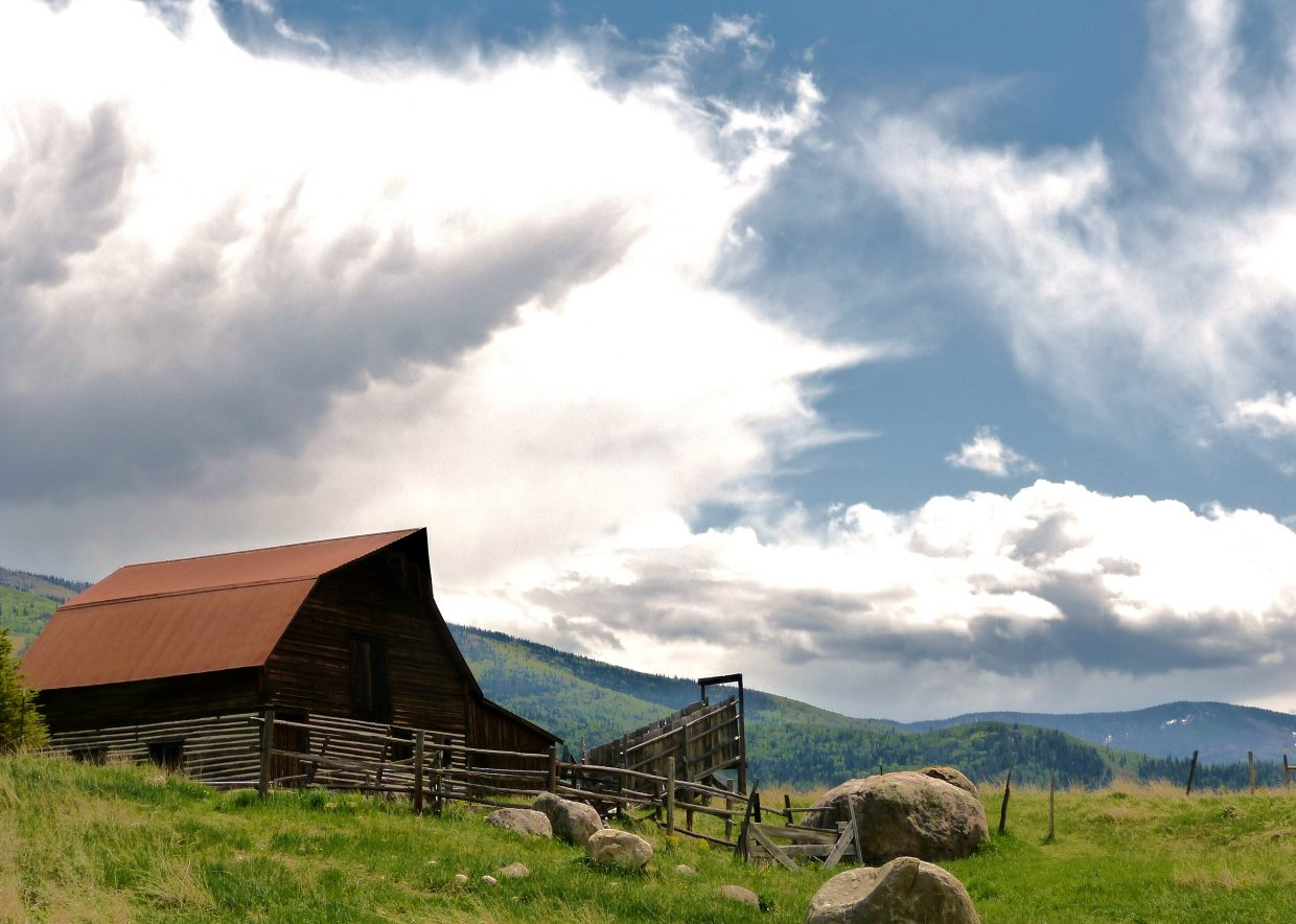 I know, more barn pics, but the clouds were amazing Saturday afternoon. Submitted by: Matt Helm