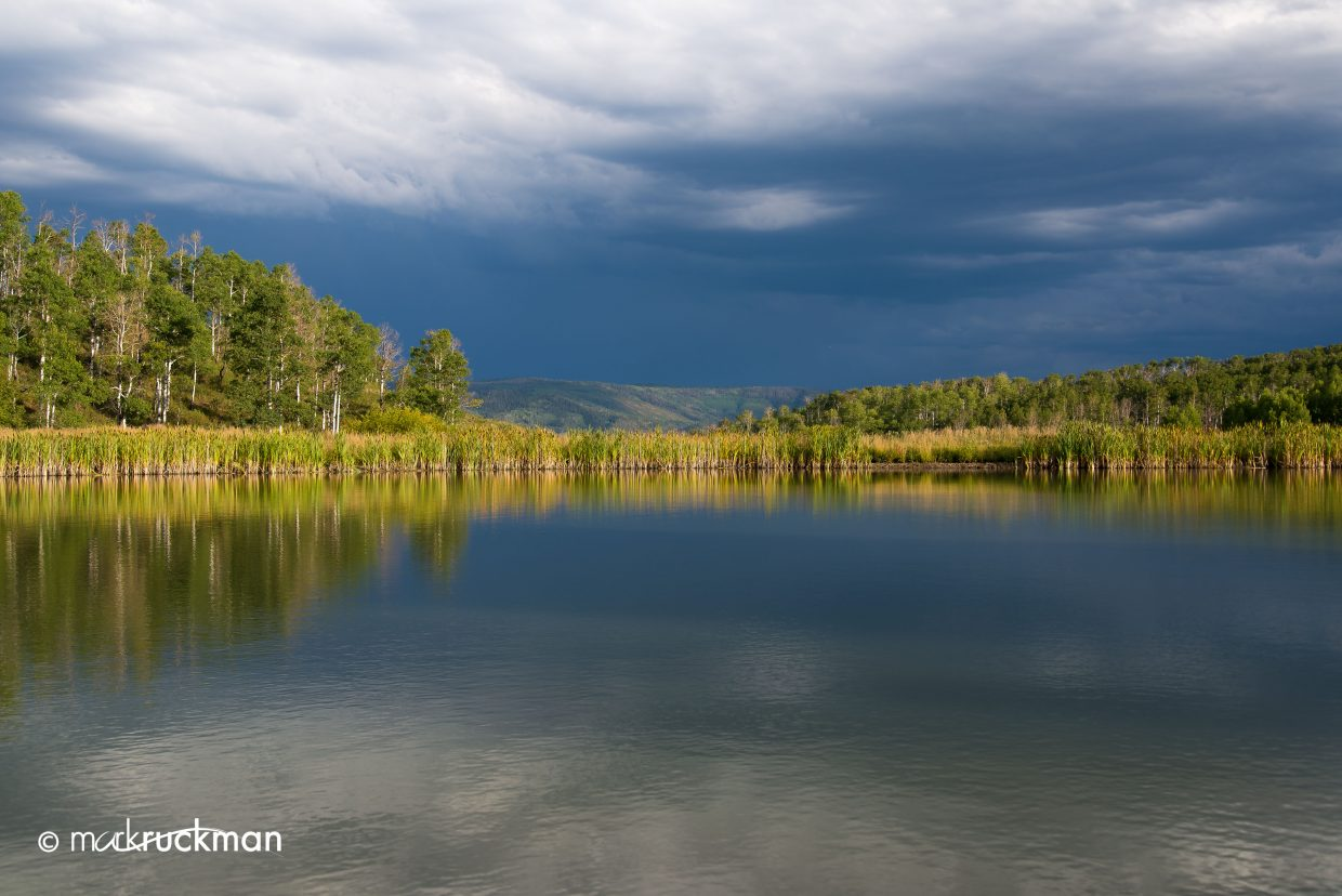 Approaching storm. Submitted by: Mark Ruckman
