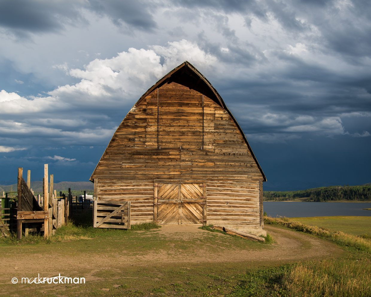 Stormy barn. Submitted by: Mark Ruckman