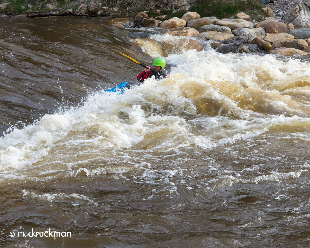 Playing in the Yampa. Submitted by: Mark Ruckman