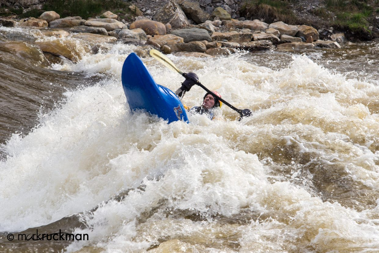 Going upstream. Submitted by: Mark Ruckman