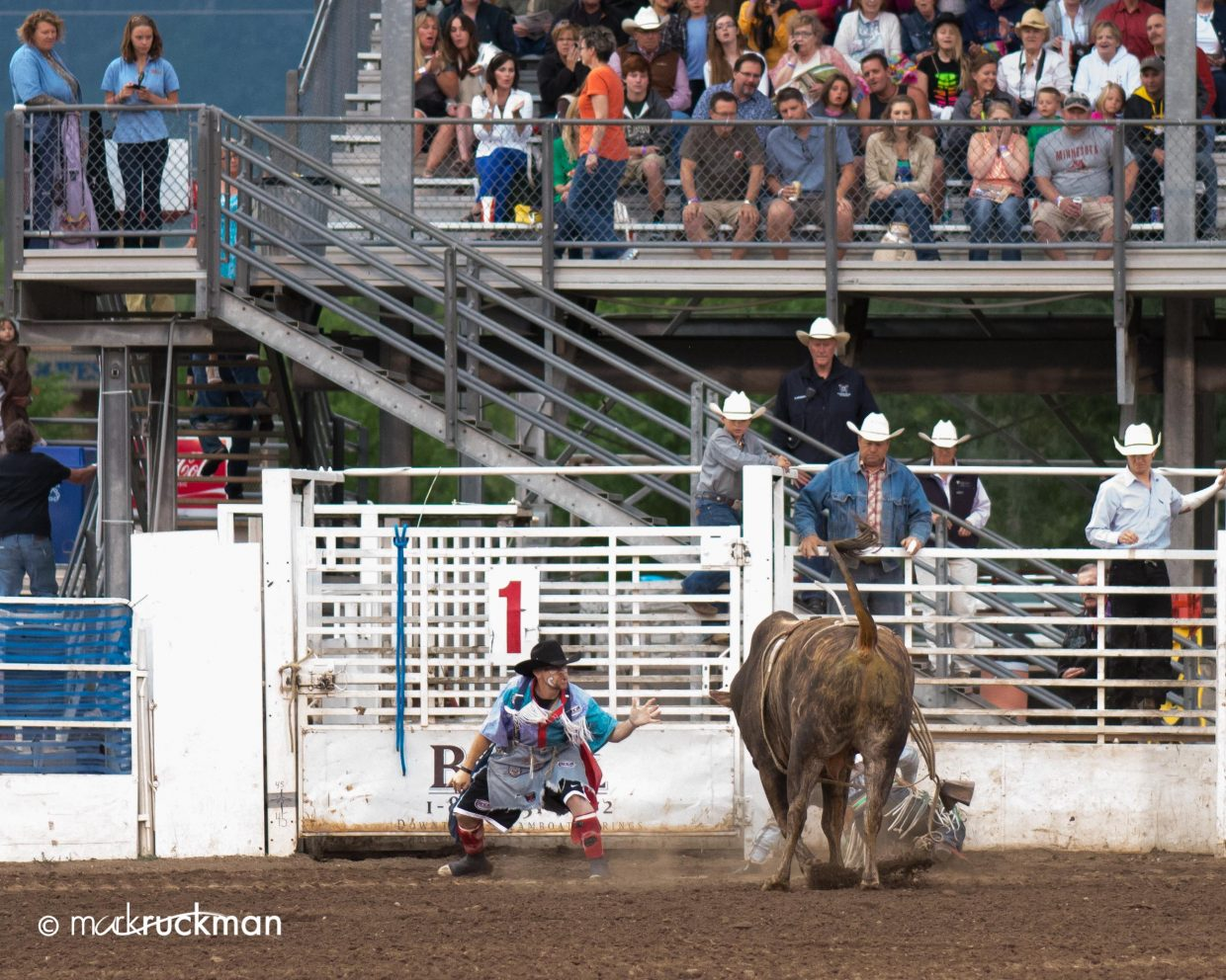 Who wants to be a rodeo clown? Submitted by: Mark Ruckman