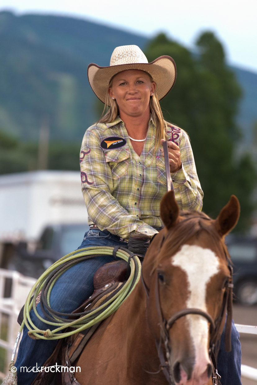 The cowgirl. Submitted by: Mark Ruckman
