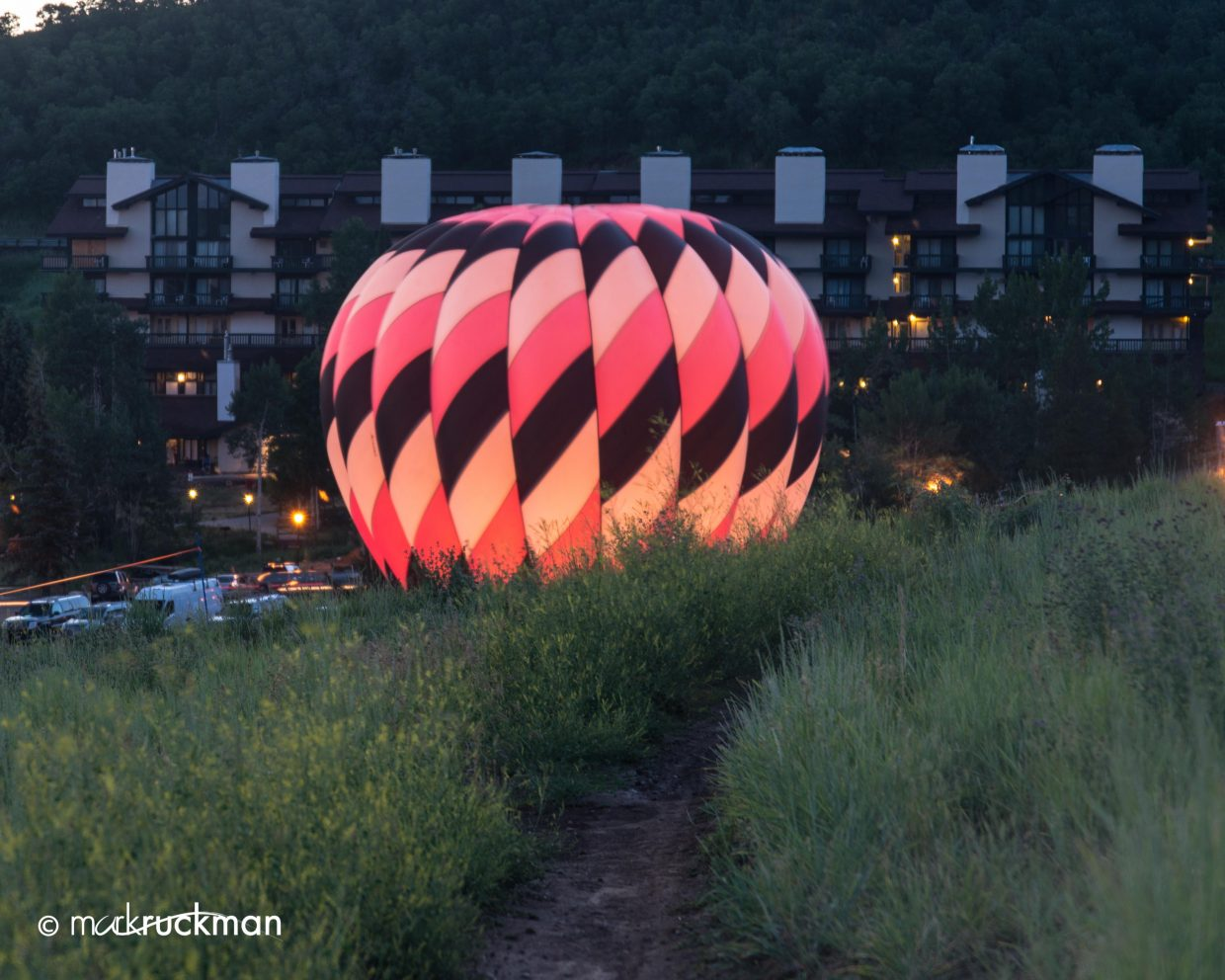 Balloon Glow. Submitted by: Mark Ruckman