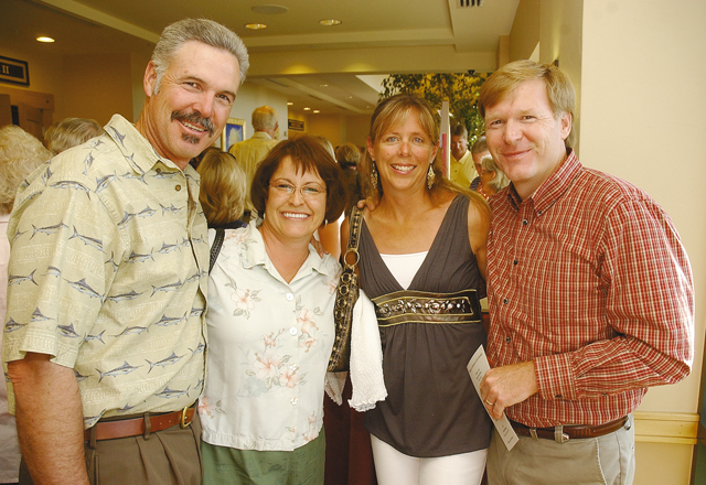 Steamboat residents Terry and Kathy Stokes, from left, and Gina and Mark Walker.