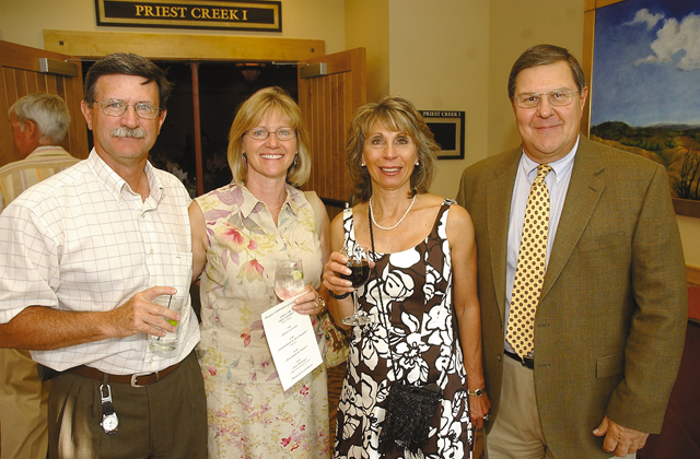 Karl and Mary Gills, from left, and Judy and Jim Zuccone of Yampa Valley Medical Center.
