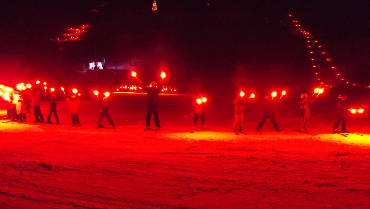 99th Winter Carnival Jumpers Ring of Fire. Photo submitted by Nancy Blank