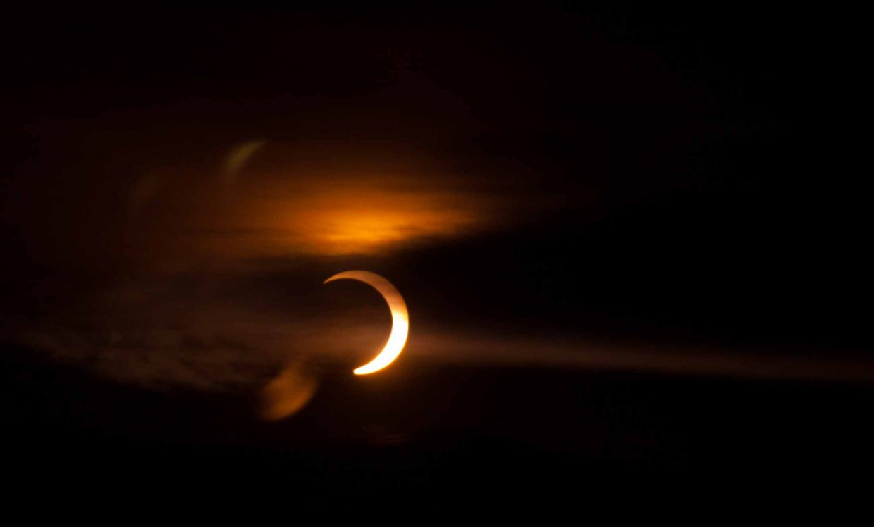 Annular solar eclipse. Submitted by: Paul Hughes
