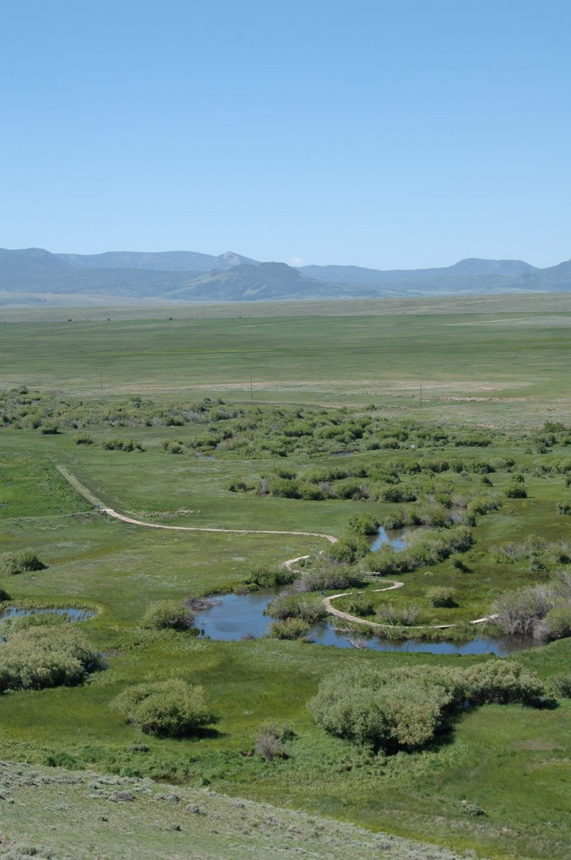 Scenic overlook at Arapaho National Wildlife Refuge. Submitted by: Lindsay Porter