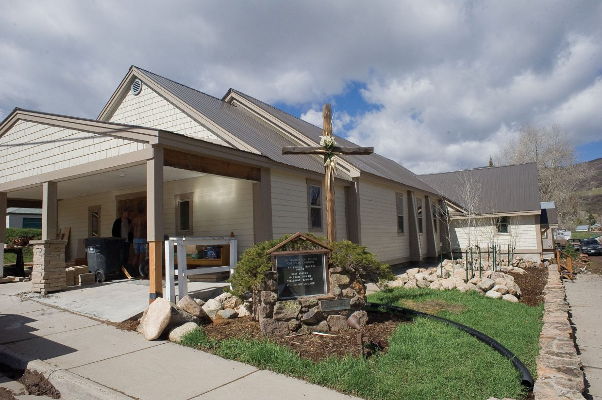 Archbishop Charles Joseph Chaput will visit the St. Martin of Tours Catholic Church in Oak Creek today. The sanctuary, which was built in the early 1940, recently has been refurbished using funds that the church has collected throughout many years.
