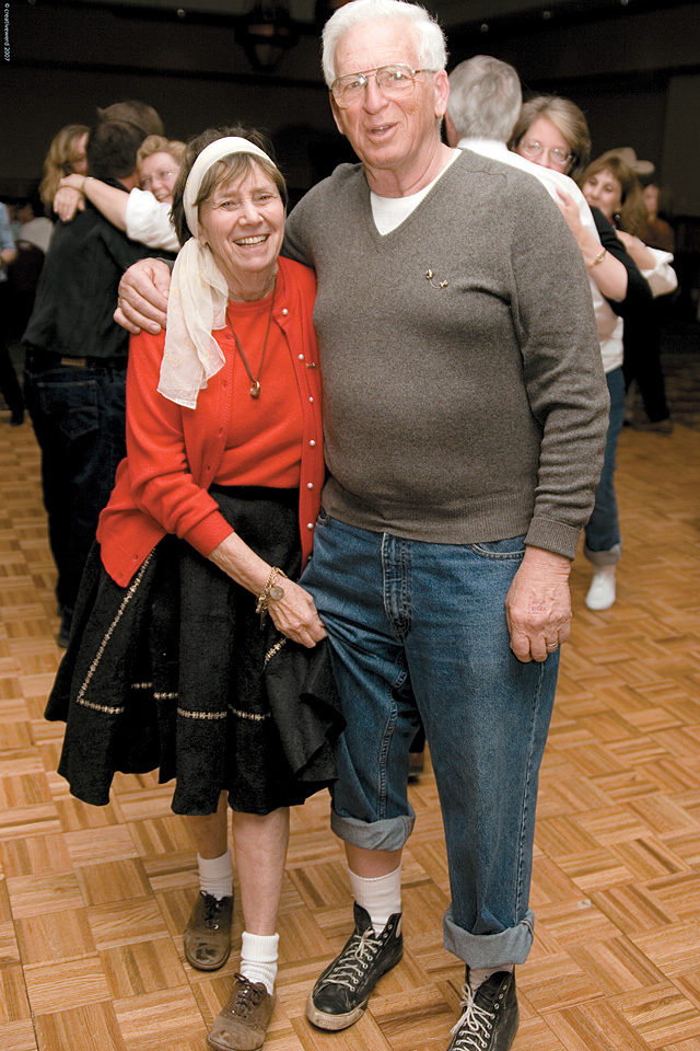 Jane and Bud Romberg at the benefit, which was held at the Steamboat Grand Resort Hotel on April 6.