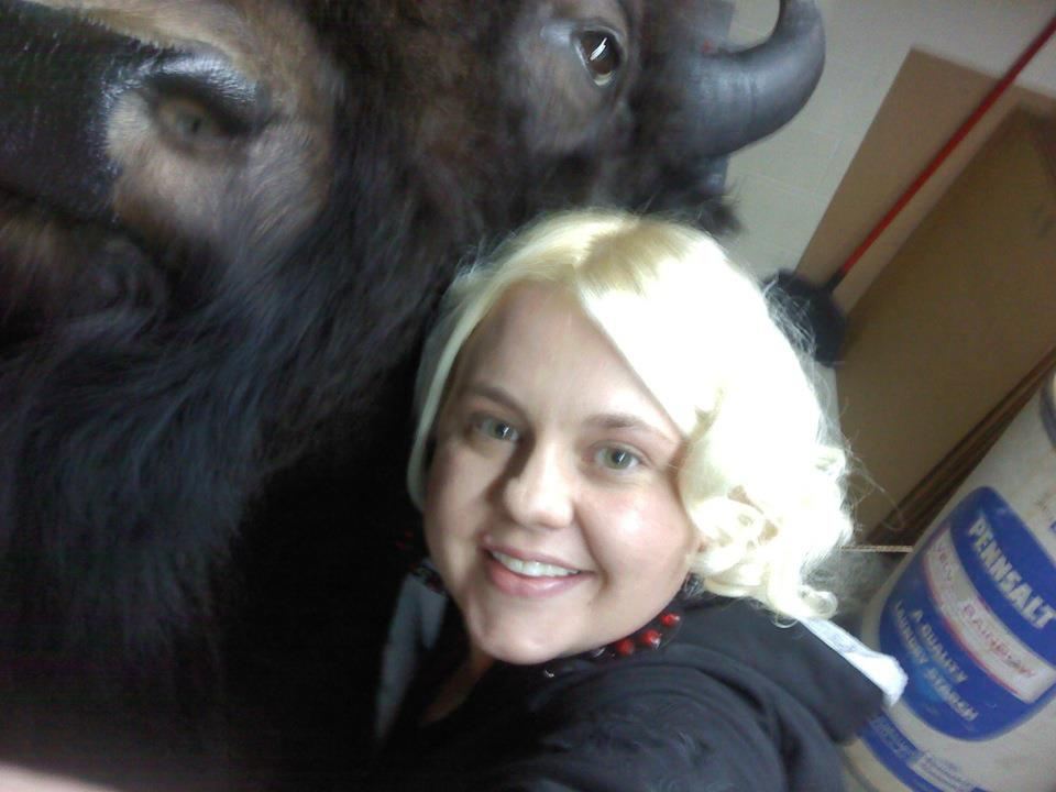 Hug a buffalo! Submitted by: Candice May Martin