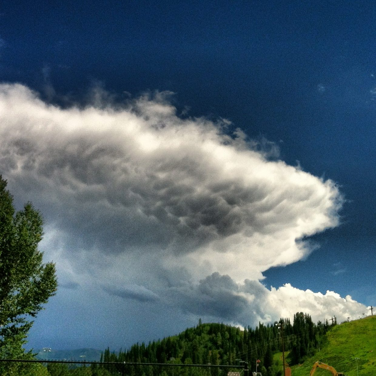 Taken at Howelsen Hill on July 17. Submitted by: Brandon Skaggs