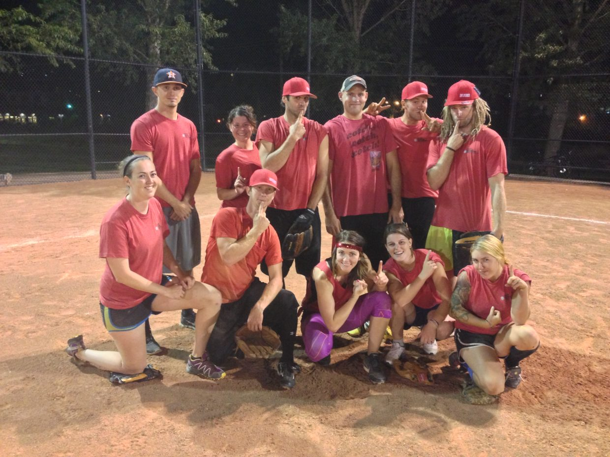 The B.C.-E.M.S. Unlimited squad was this year's C League softball champion.