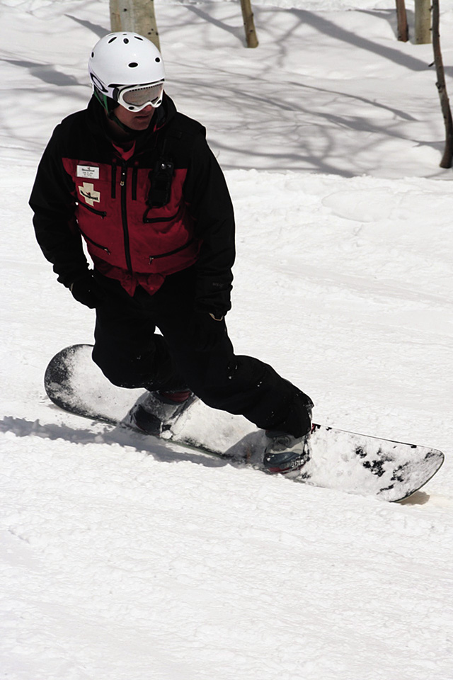 Cody St. John patrolled for the Steamboat Ski Area for four seasons. He was elected by his peers as Colorado's 2006 Ski Patroller of the Year.