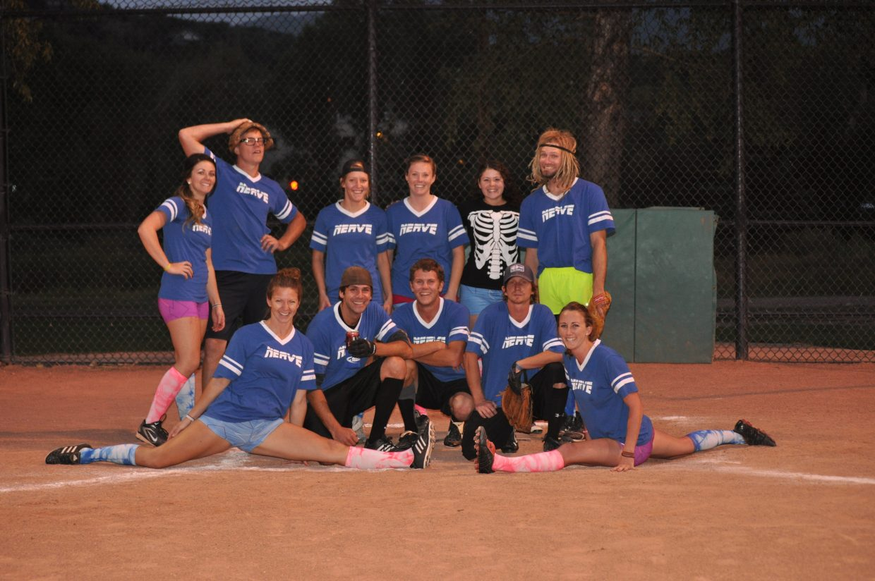 Softball Coed C League Division 1 champion for 2012 was EMS Unlimited.
