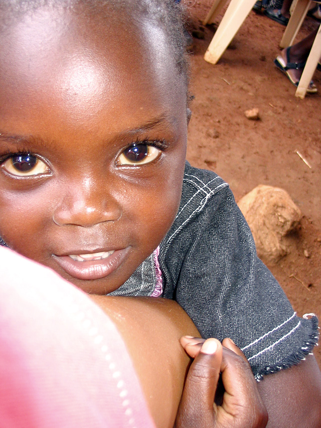 This is one of the 80 Uganda orphans that Come, Let's Dance is raising money for with their dance fundraiser Saturday night. The nonprofit will use the proceeds towards purchasing 20 acres of land with they will set them up with organic farming and some houses.