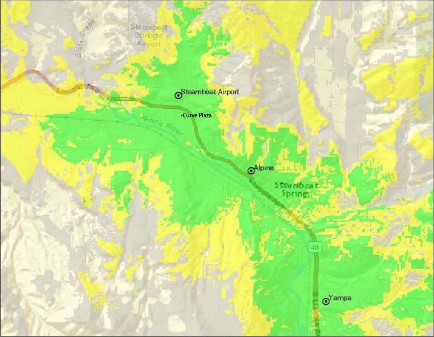 Who will benefit from new cell tower in west Steamboat? Here's a map Cell Tower Map on