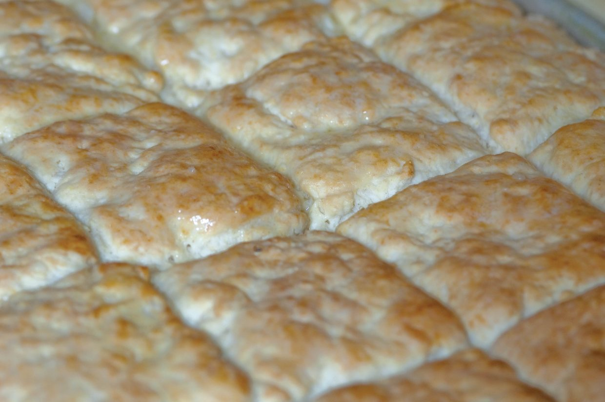 The recipe or Lil' House's biscuits has been fine-tuned.