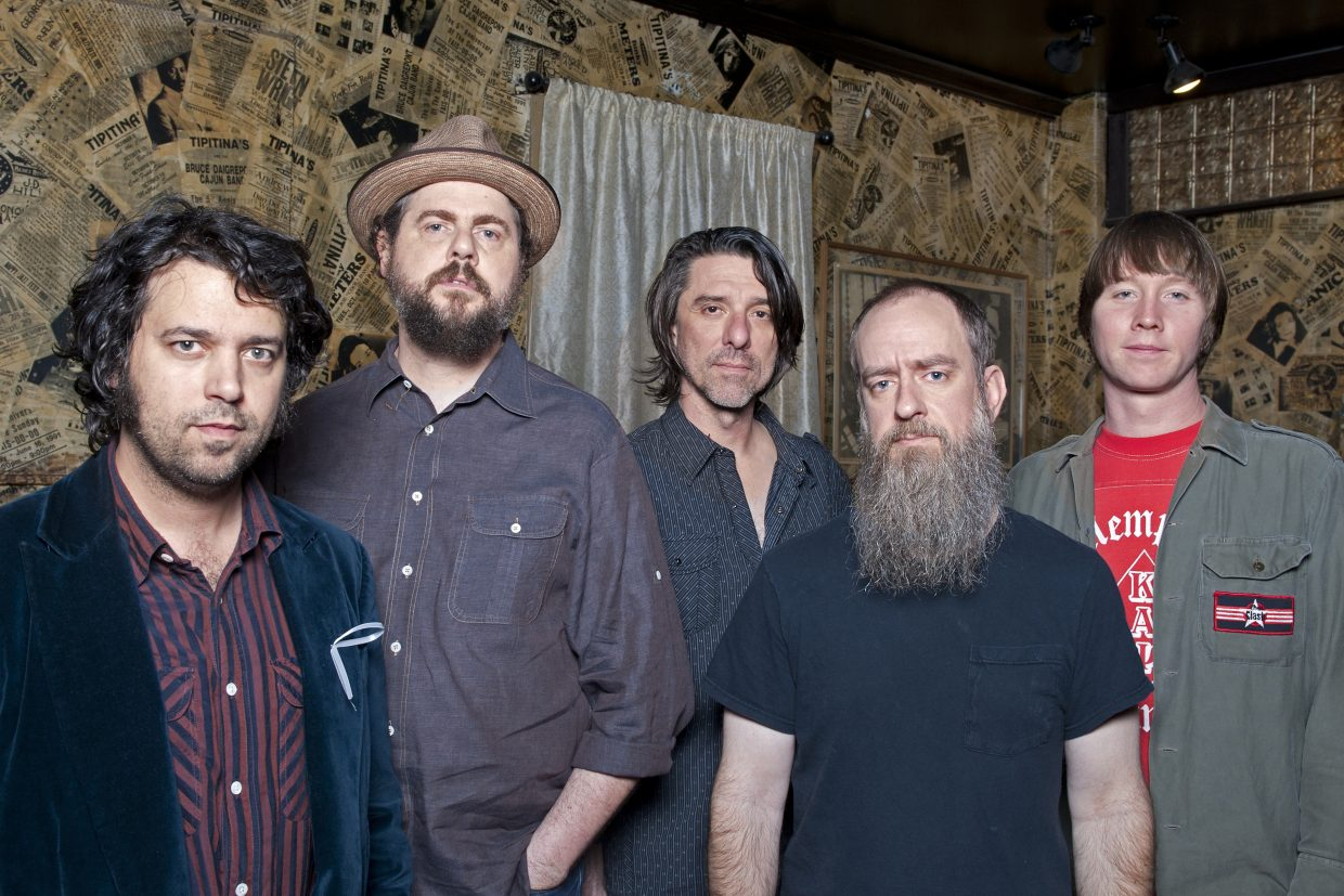 The Drive-By Truckers play the Steamboat Springs Free Summer Concert Series on Friday. Pictured, from left, are Jay Gonzalez, Patterson Hood, Mike Cooley, Brad Morgan and Matt Patton.