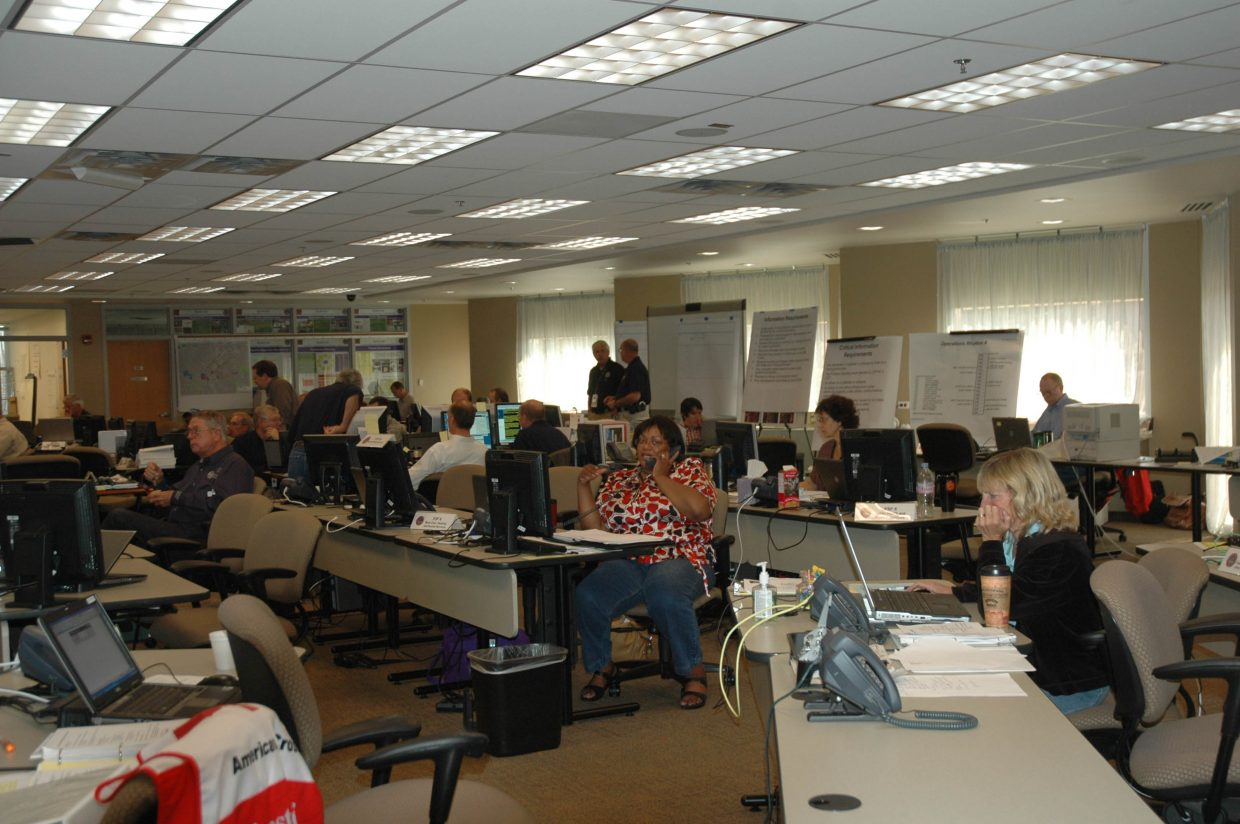 A command center has been set up at the State Emergency Operations Center in Centennial for the 2008 Democratic National Convention in Denver. Two Routt County residents are part of the team.