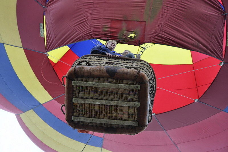 Early at the Hot Air Balloon Rodeo. Submitted by: Justin Saunders